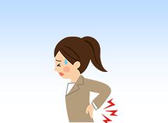 腰などの痛み